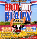 17 november ROOD-WIT blauw Party